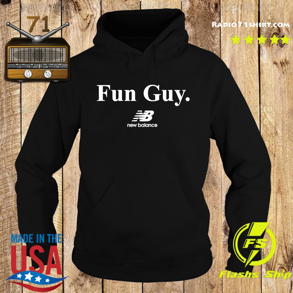 Fun Guy New Balance Logo Shirt Hoodie