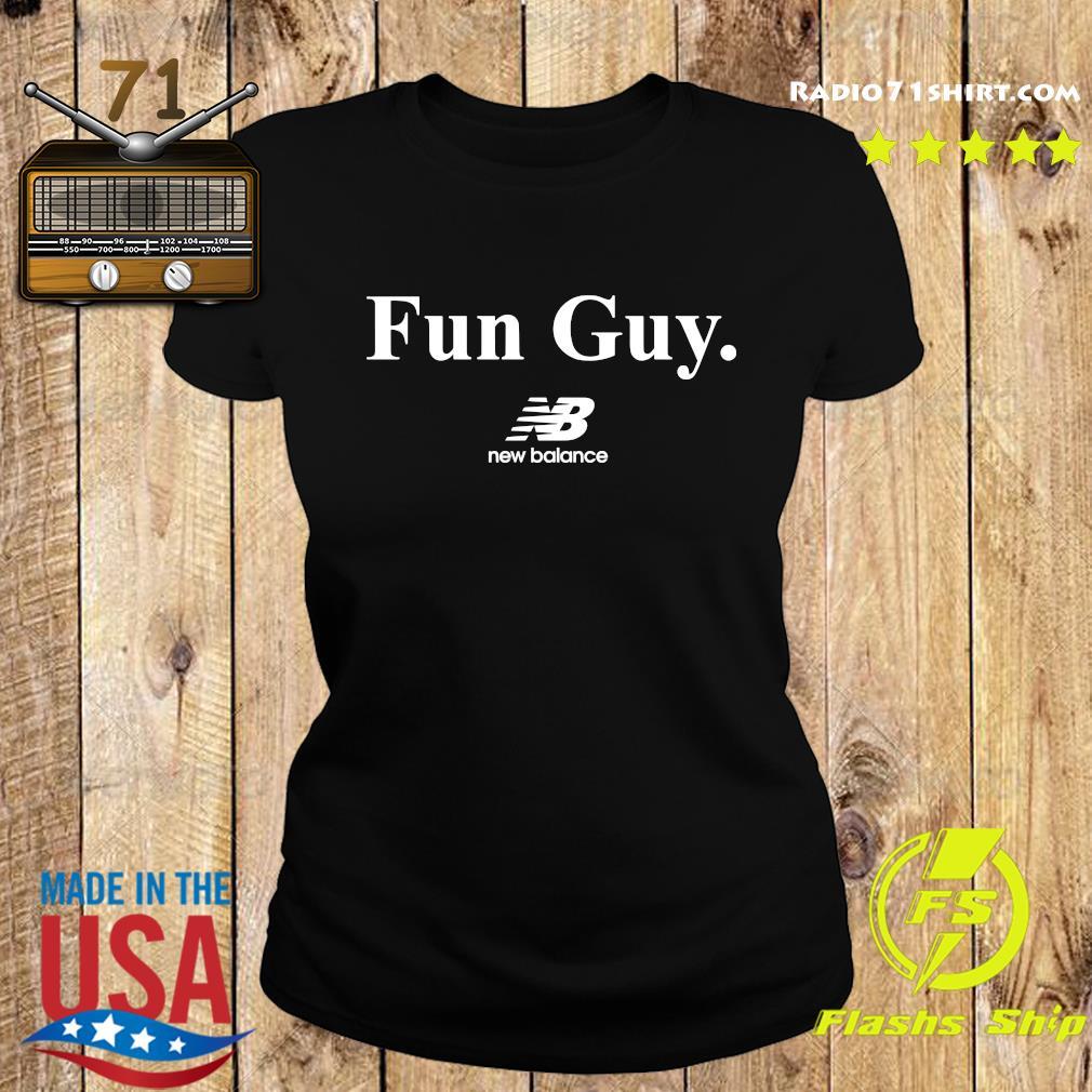 Fun Guy New Balance Logo Shirt Ladies tee