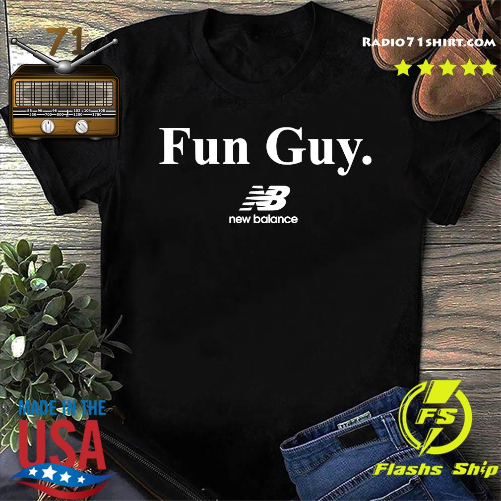 Fun Guy New Balance Logo Shirt