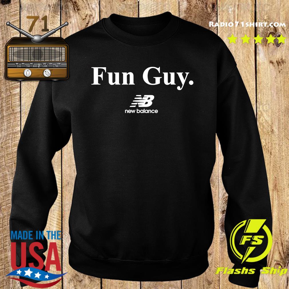 Fun Guy New Balance Logo Shirt Sweater