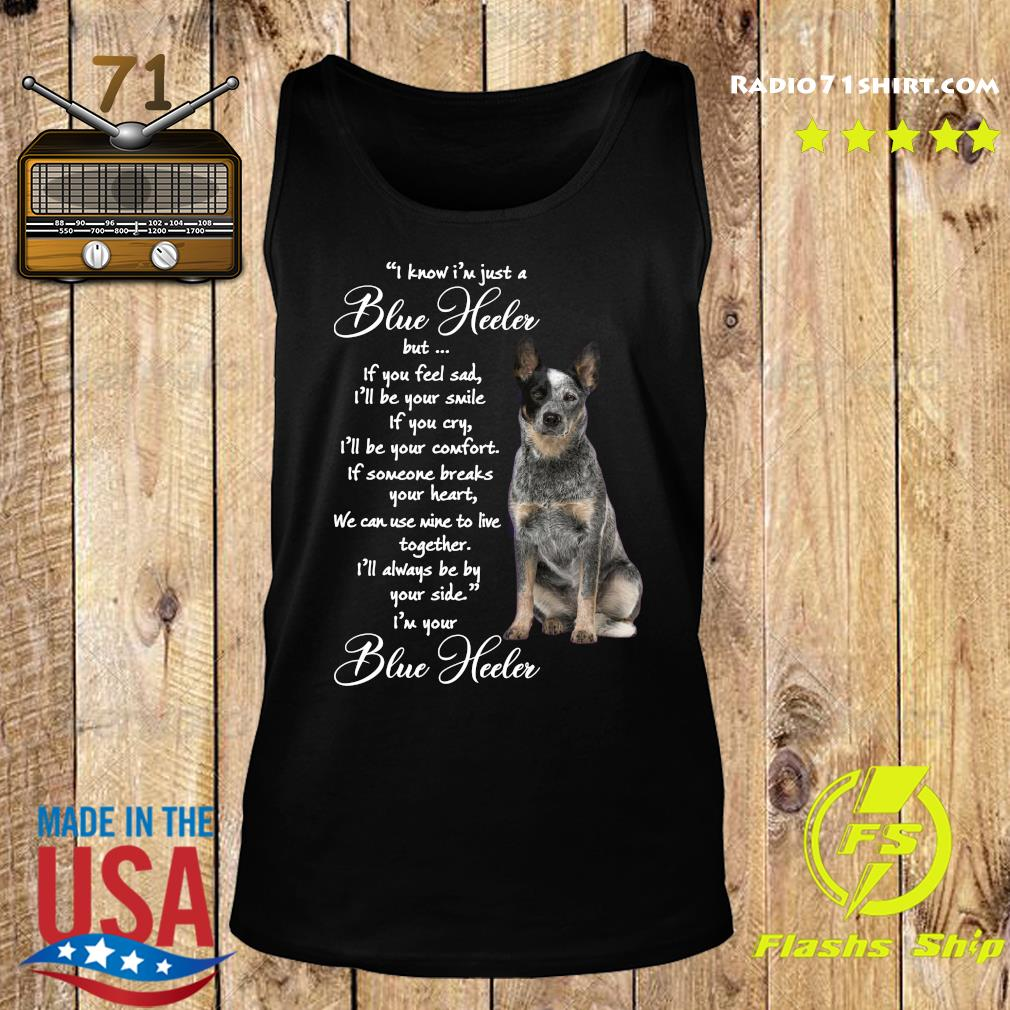 I Know I'm Just A Blue Heeler But If You Feel Sad Shirt Tank top