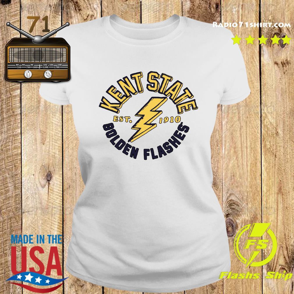 Kent State University Est 1910 Golden Flashes Shirt Ladies tee