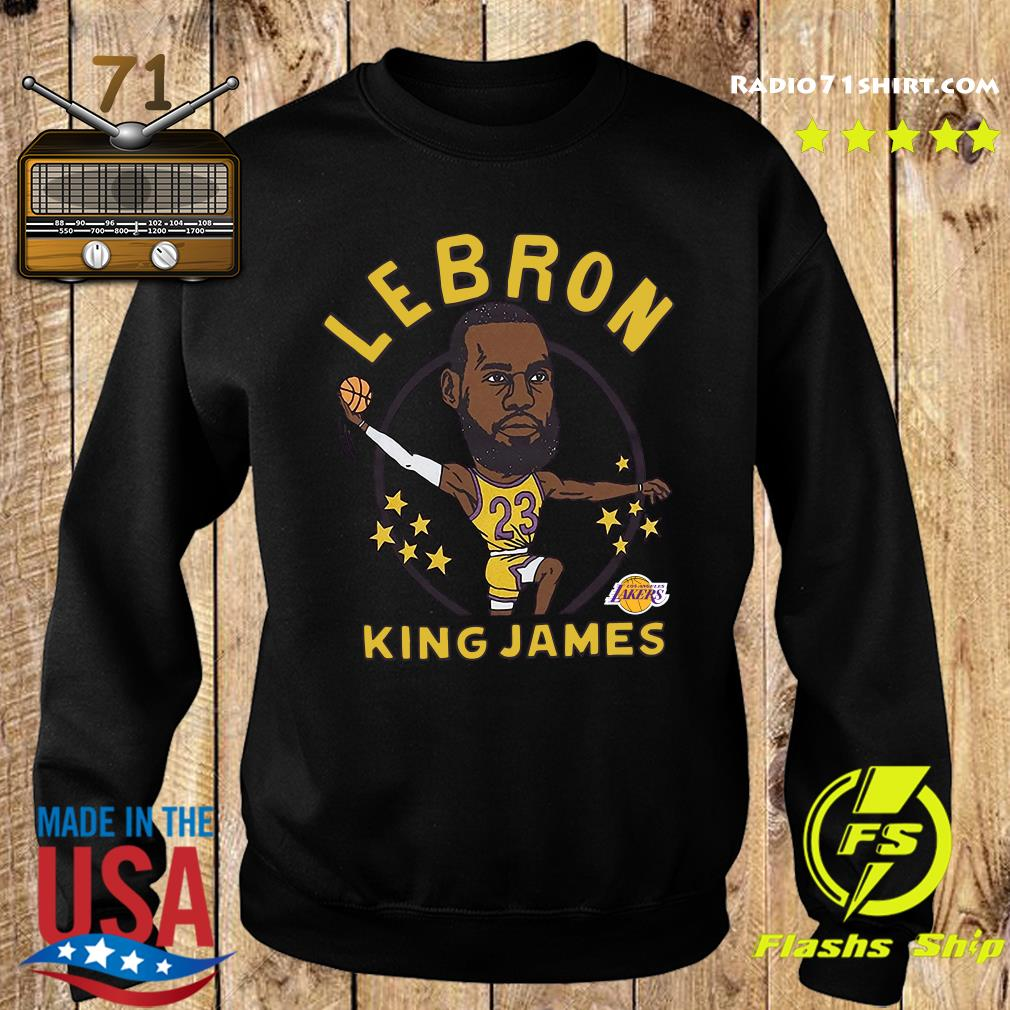 LeBron James King James Caricature Shirt Sweater
