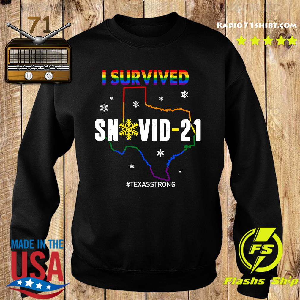 LGBT I Survived Snowvid - 21 #Texasstrong s Sweater