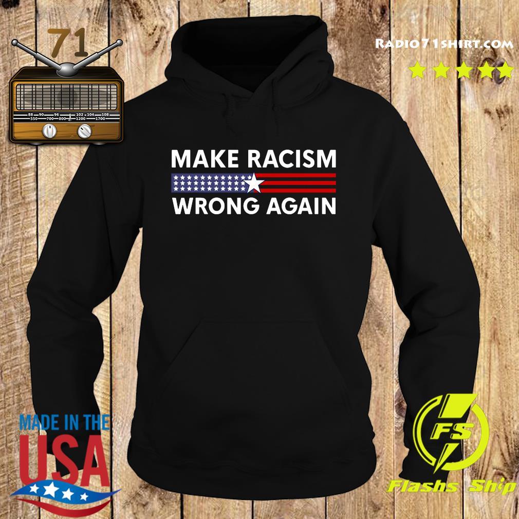 Make Racism Wrong Again – Anti Racism 86 45 Resist Message Shirt Hoodie