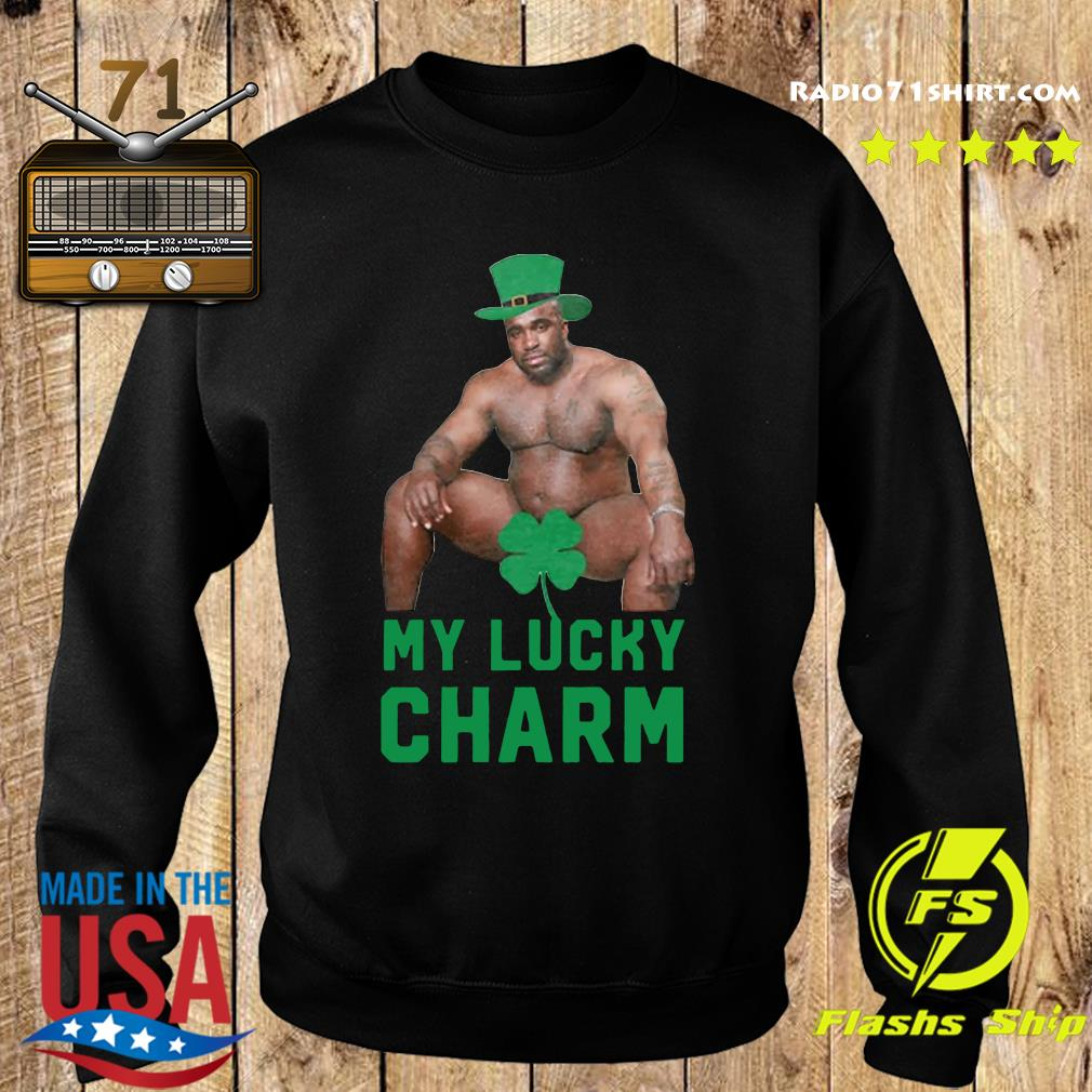 Official Barry Wood My Lucky Charm St. Patrick's Day 2021 Shirt Sweater