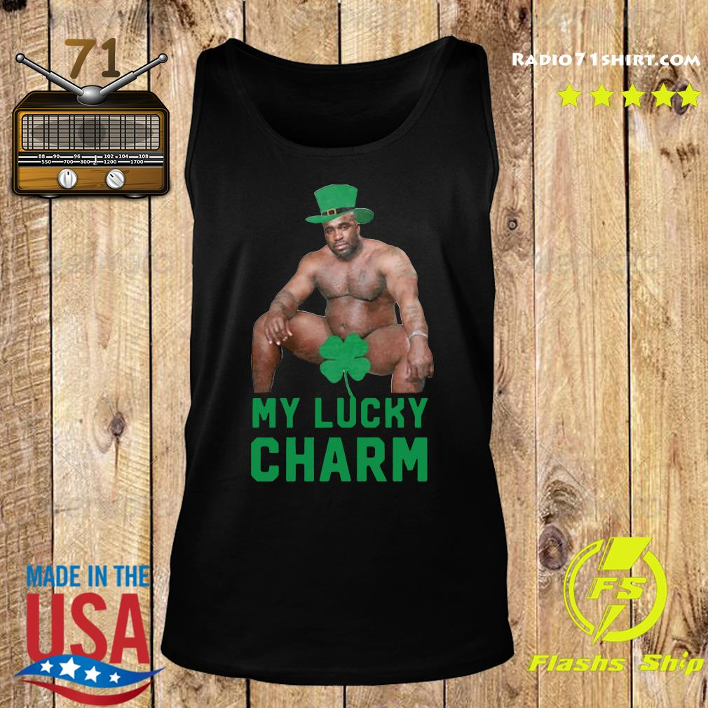 Official Barry Wood My Lucky Charm St. Patrick's Day 2021 Shirt Tank top