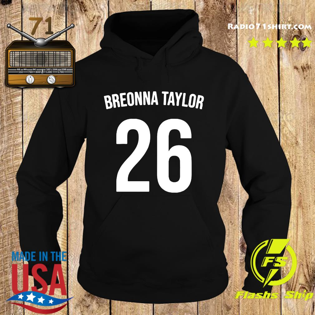 Official Breonna Taylor 26 Shirt Hoodie