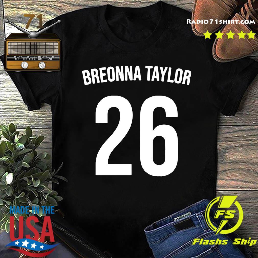 Official Breonna Taylor 26 Shirt