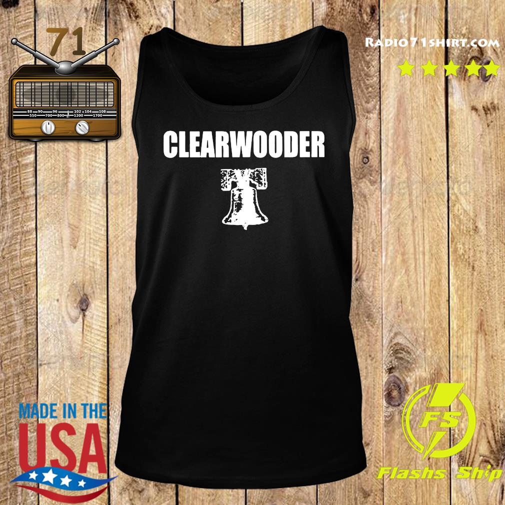 Official Clearwooder Shirt Tank top
