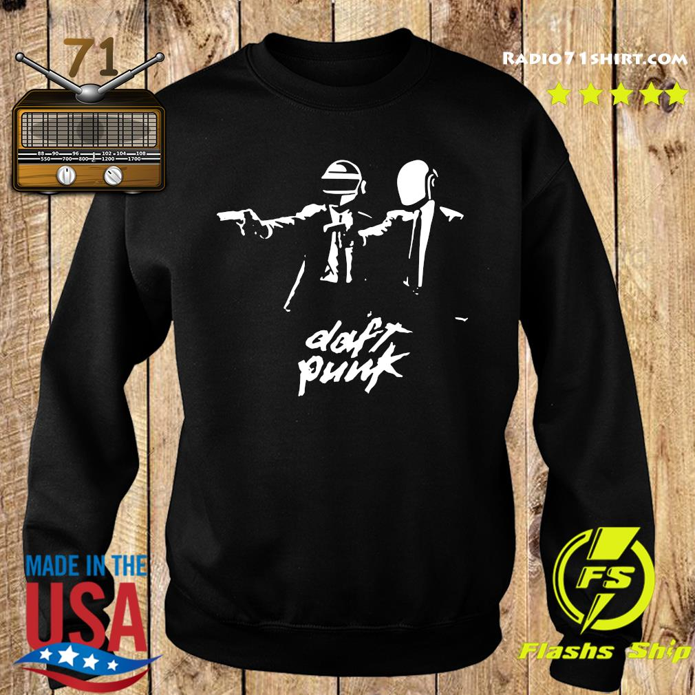 Official Daft Punk Fiction Essential Shirt Sweater