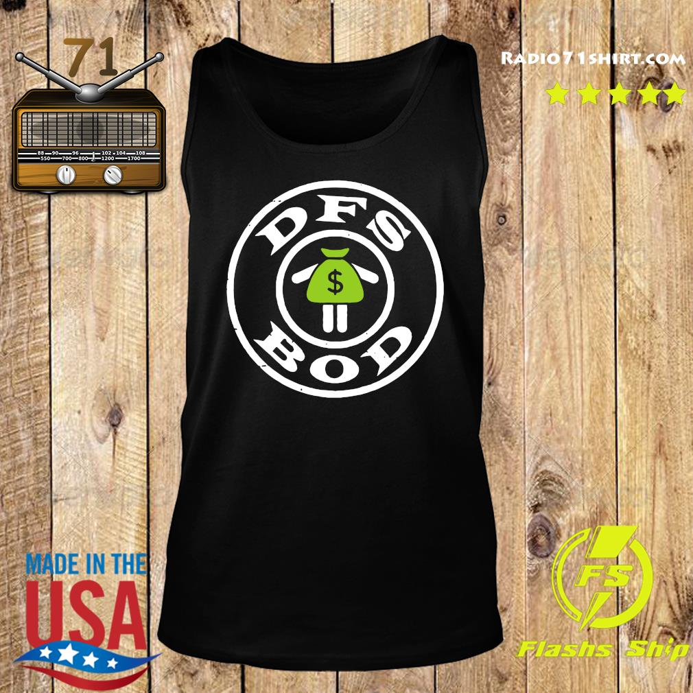 Official Dfs Bod Logo Shirt Tank top