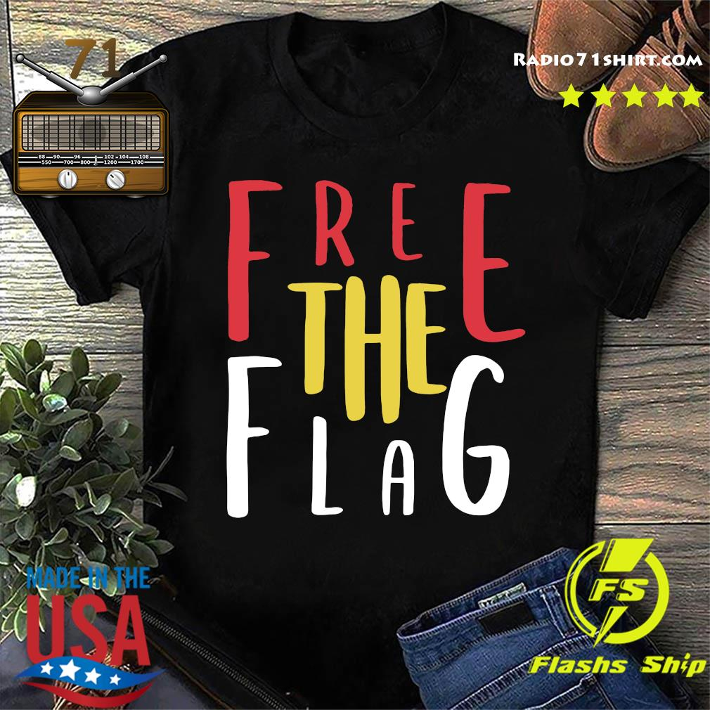 Official Free The Flag Shirt