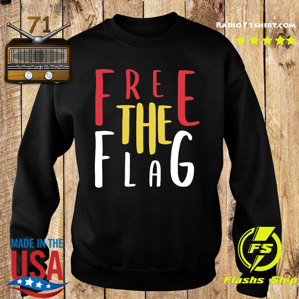 Official Free The Flag Shirt Sweater