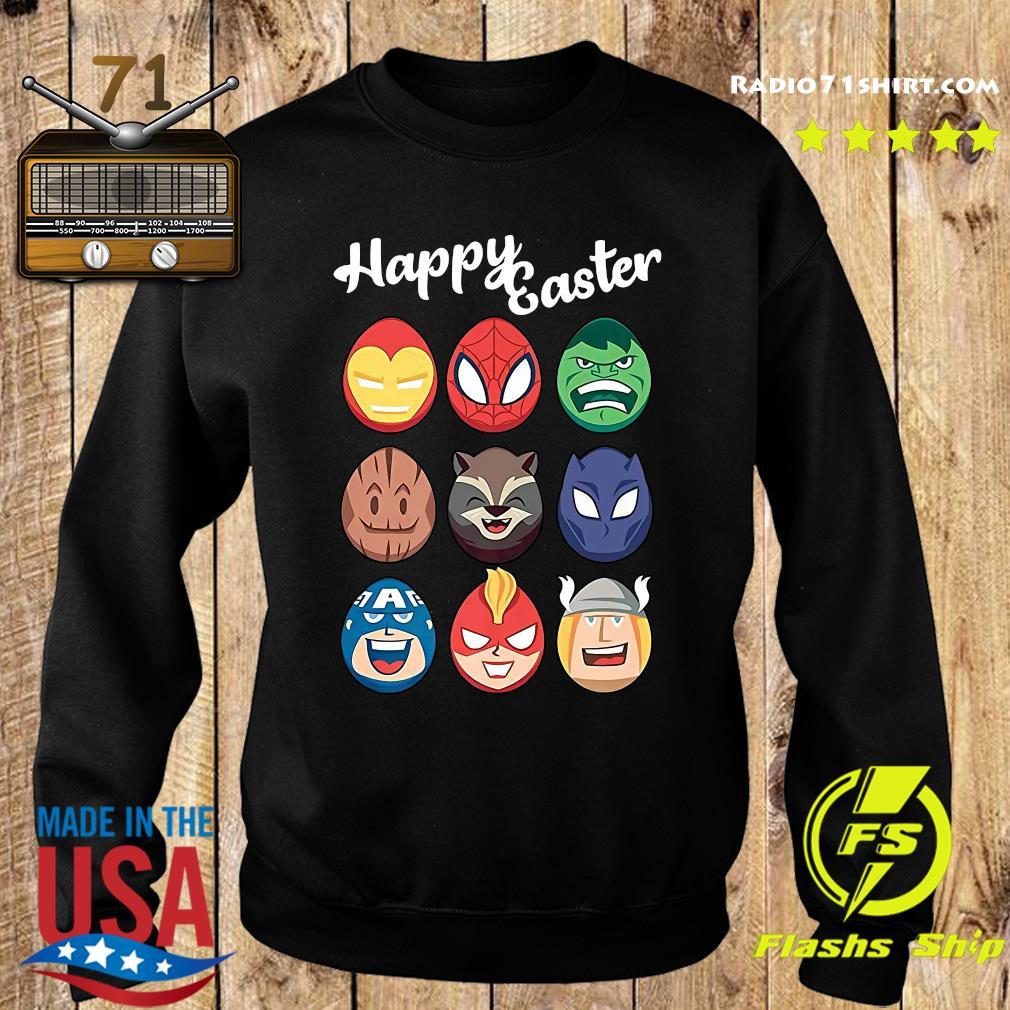 Official Marvel Avengers Eggs Happy Easter s Sweater