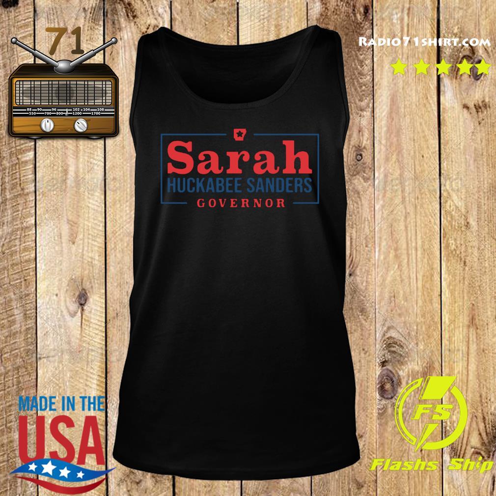 Official Sarah Huckabee Sanders Governor Shirt Tank top
