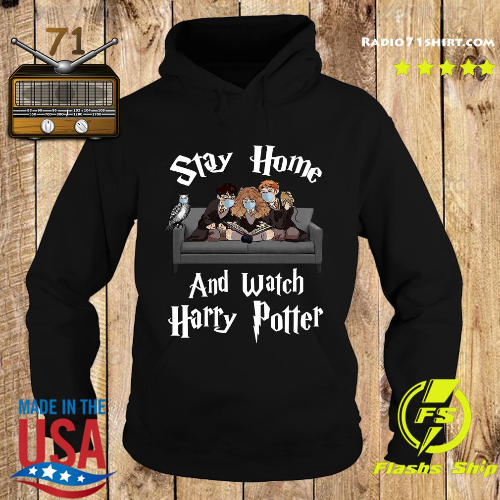 Official Stay Home And Watch Harry Potter Shirt Hoodie