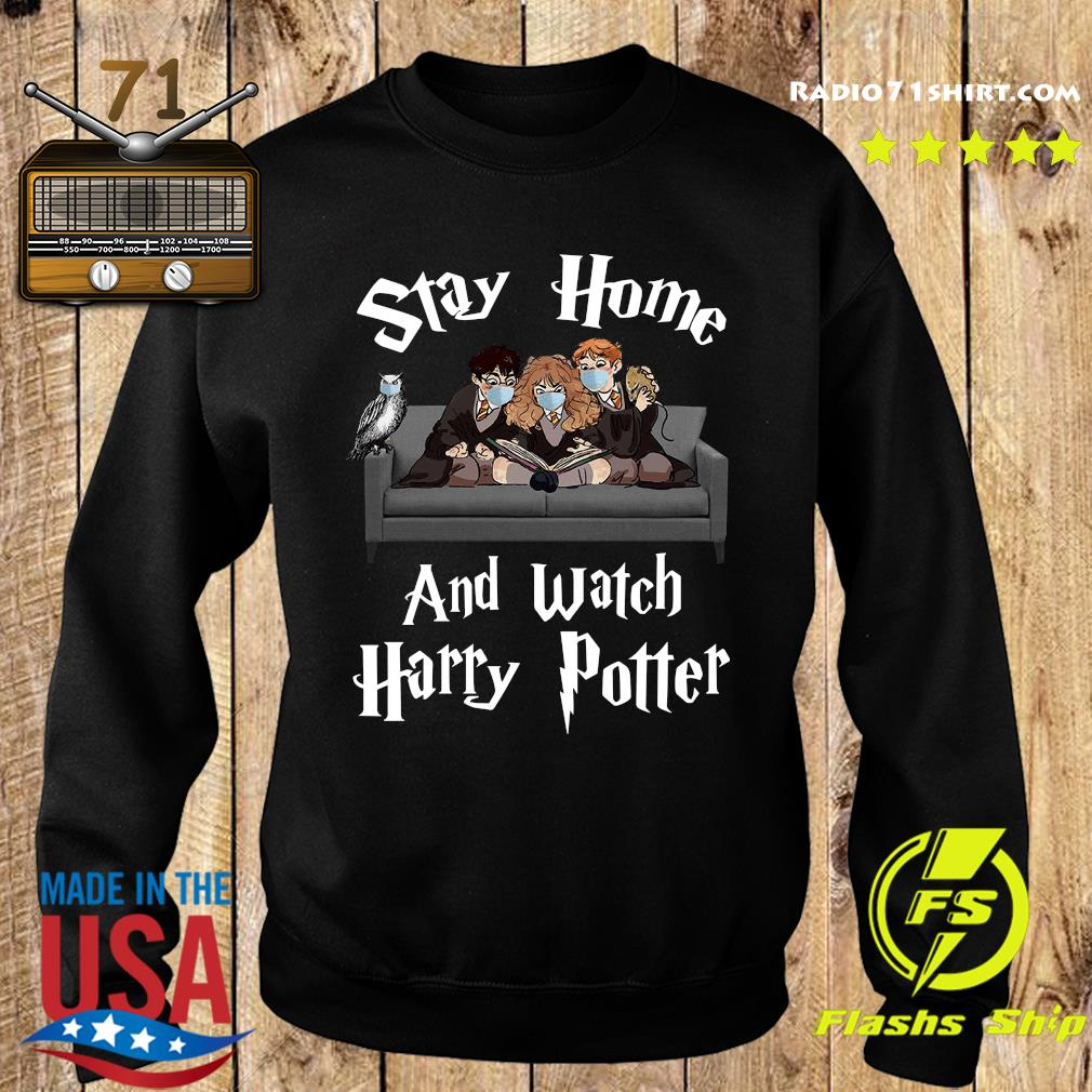 Official Stay Home And Watch Harry Potter Shirt Sweater