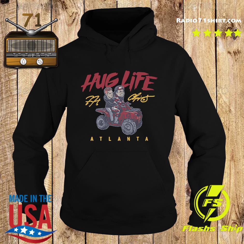 Official the Atlanta Braves Chipper Freddie Hug Life Shirt Hoodie