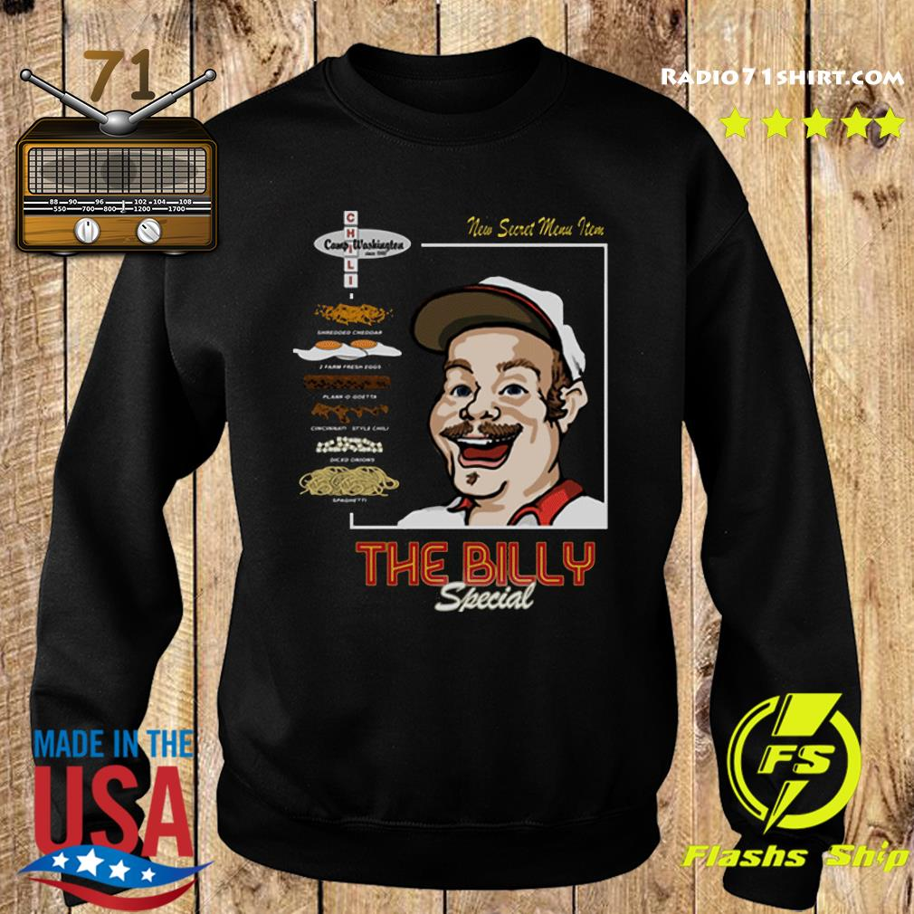 Official The Billy Special Camp Washington Chili Shirt Sweater