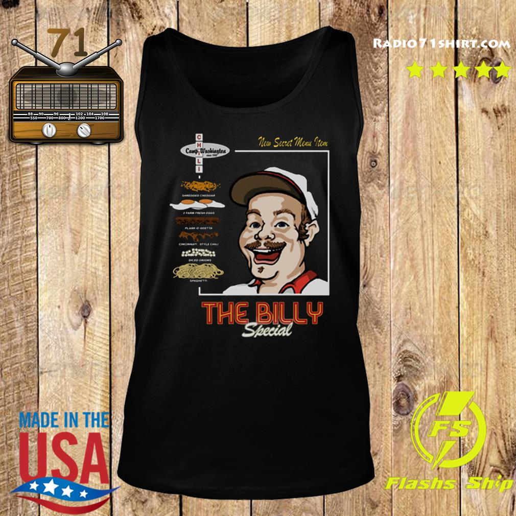 Official The Billy Special Camp Washington Chili Shirt Tank top
