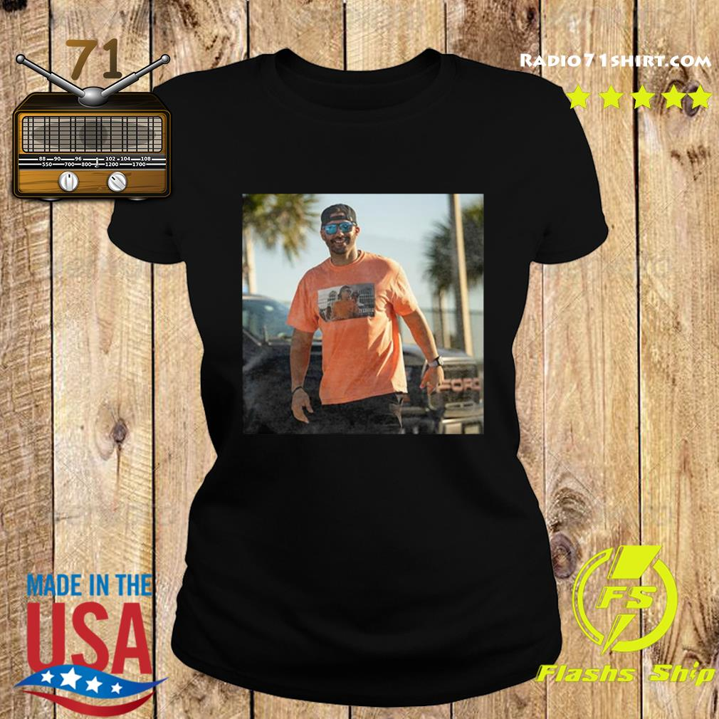 Official Tom Brady Gronk Live Their Best Lives At Super Bowl Boat Parade Shirt Ladies tee