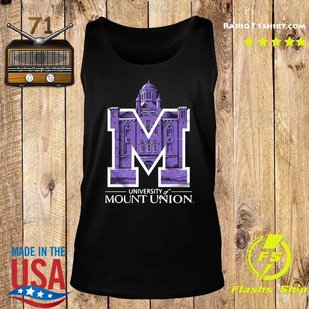Official University Of Mount Union Shirt Tank top