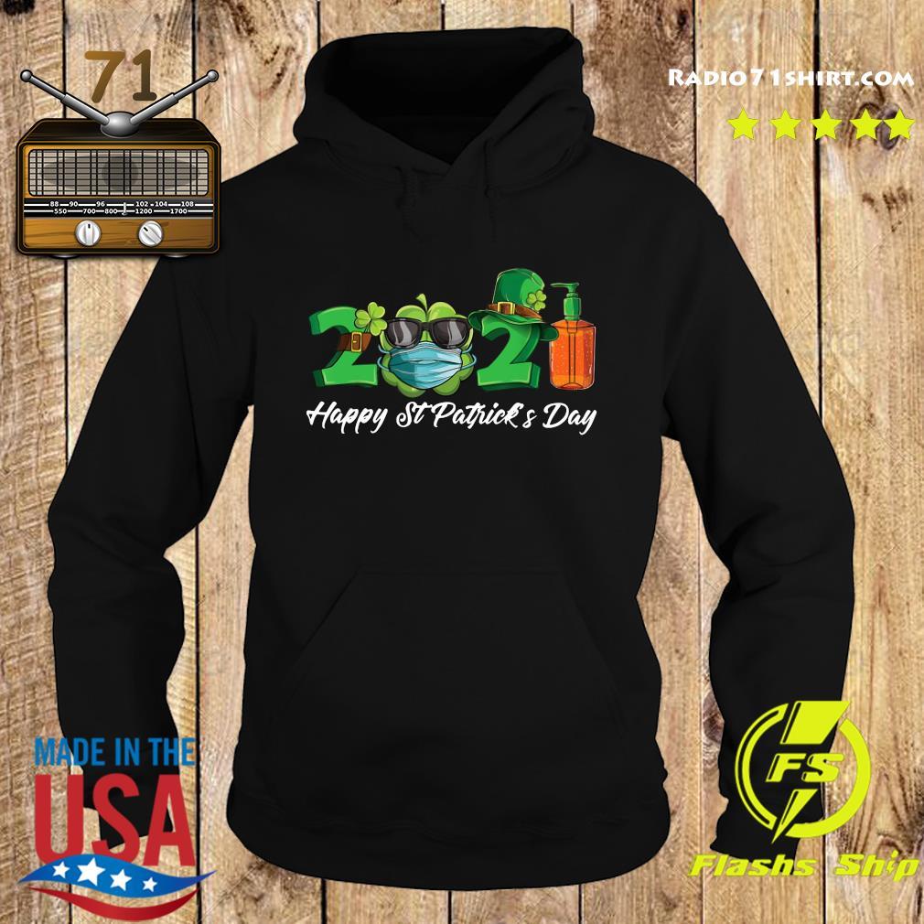 2021 Shamrock Face Mask Happy St Patrick's Day Shirt Hoodie