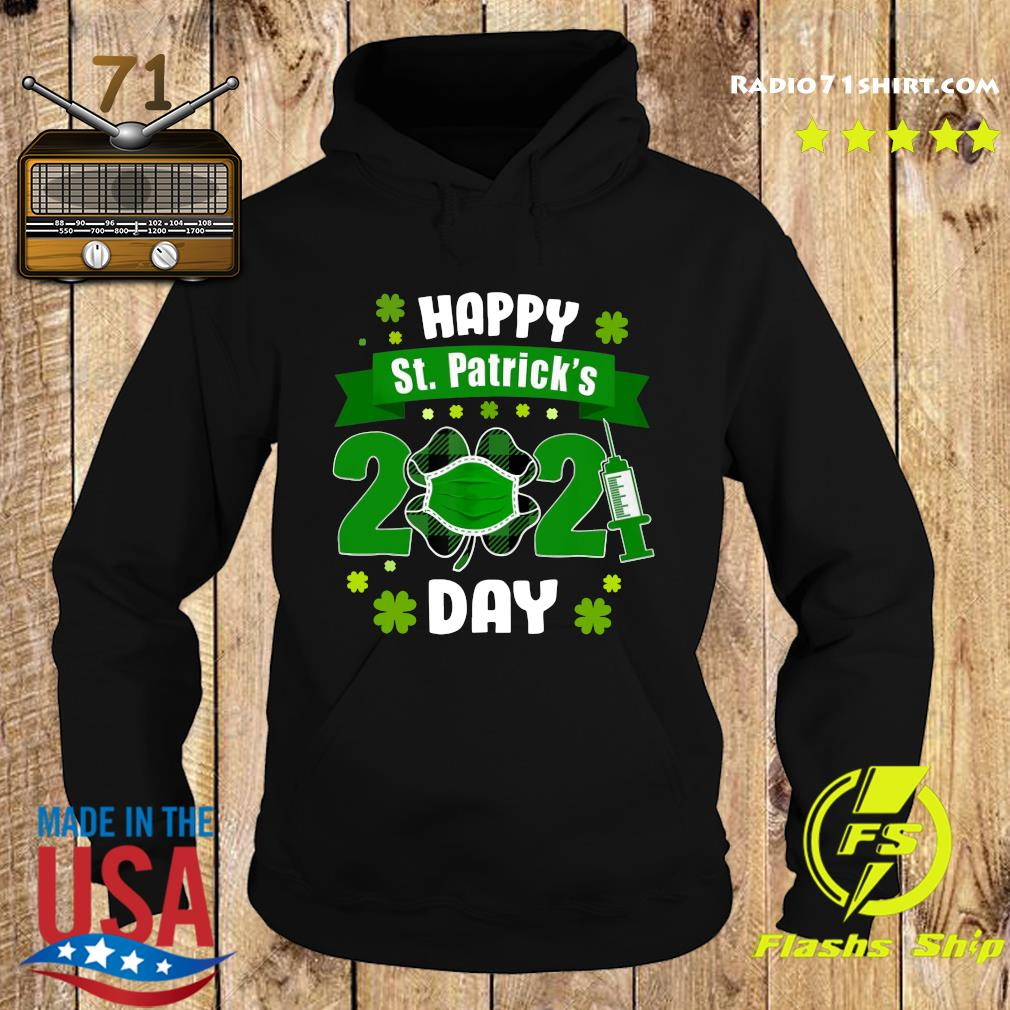 Happy St Patrick's Day 2021 Face Mask With Covid-19 Shirt Hoodie