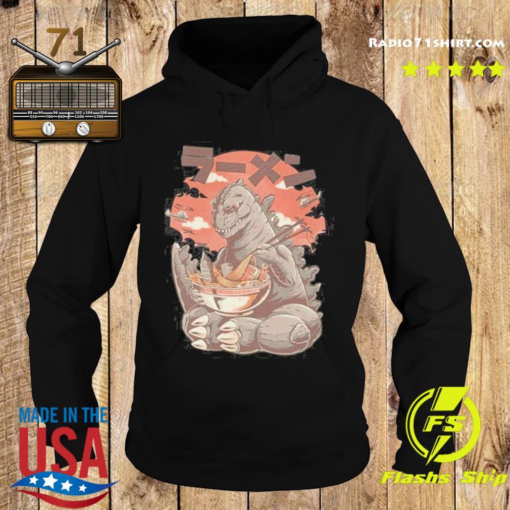 Kaiju's Ramen Godzilla - Kong Vs Godzilla Movie Shirt Hoodie