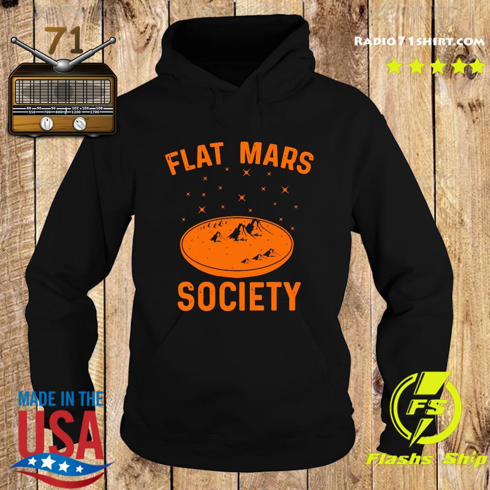 Official 2021 Flat Mars Society Shirt Hoodie
