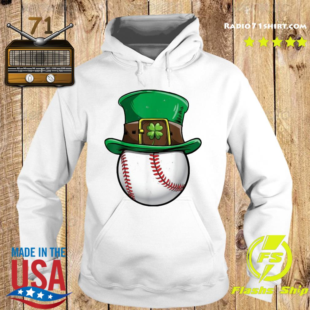 Official Baseball Happy St Patrick's Day Shirt Hoodie