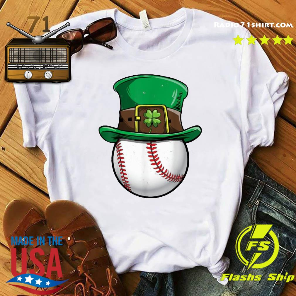 Official Baseball Happy St Patrick's Day Shirt