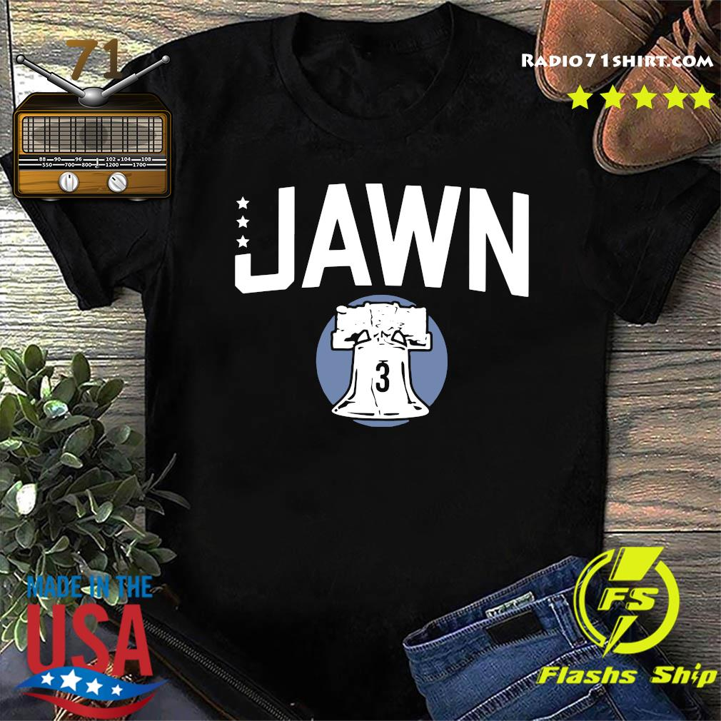 Official Bryce Harper Jawn 3 Stars Shirt