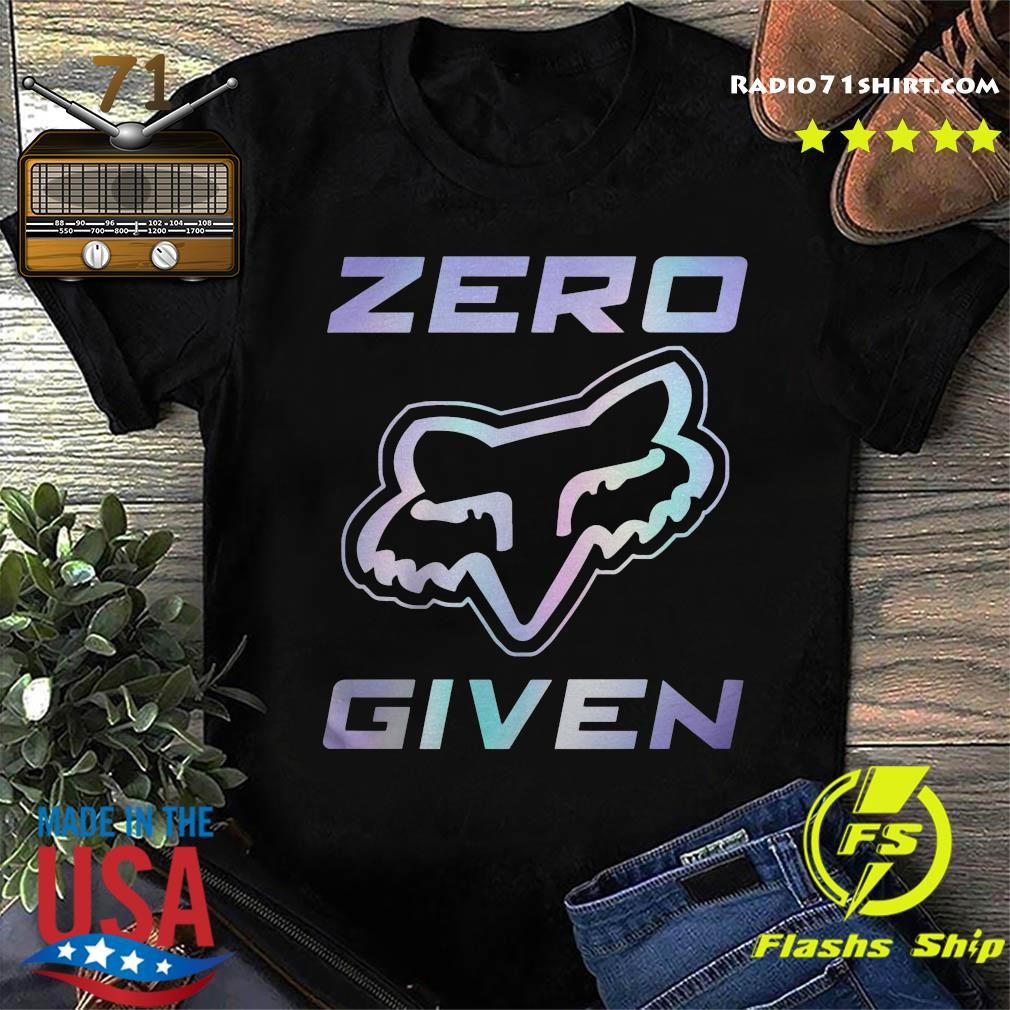 Official Fox Racing Zero Given Shirt