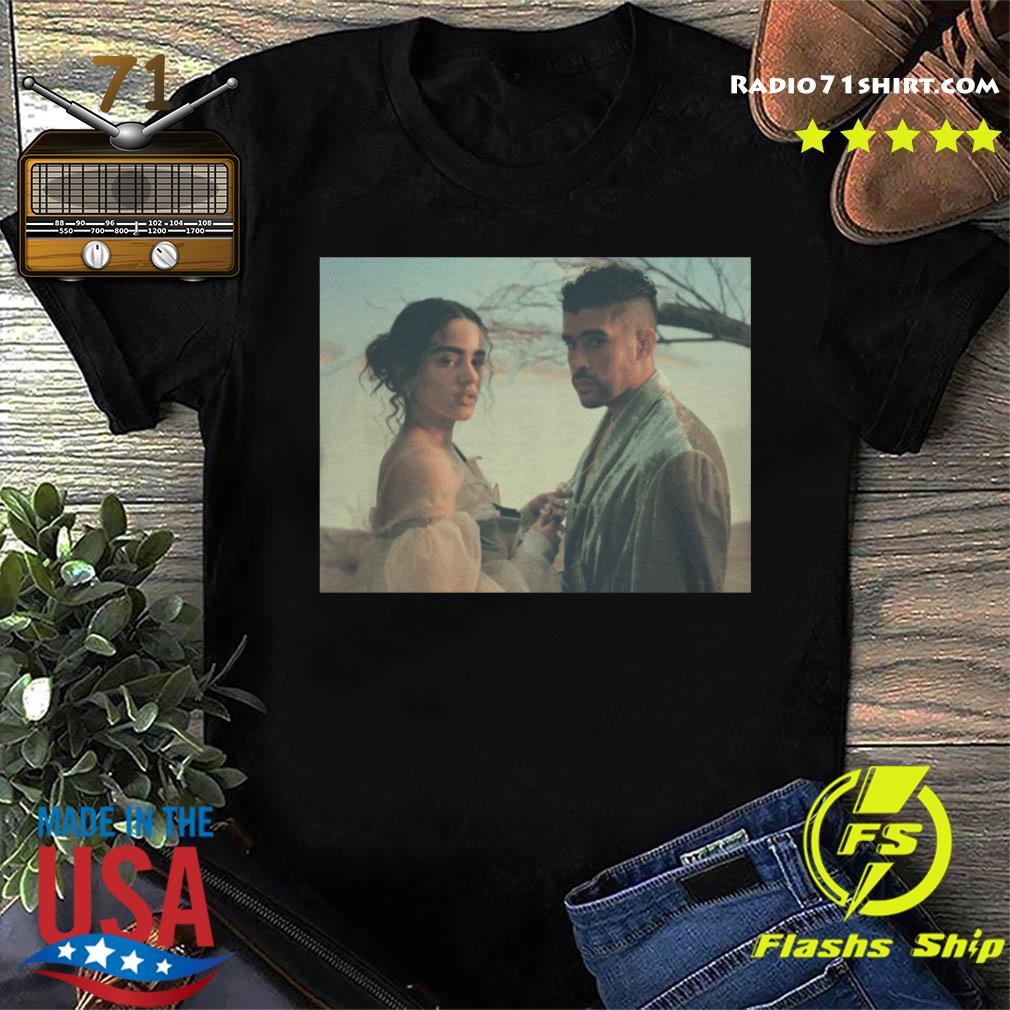 Official Latino Gang Bad Bunny And Rosalia Shirt