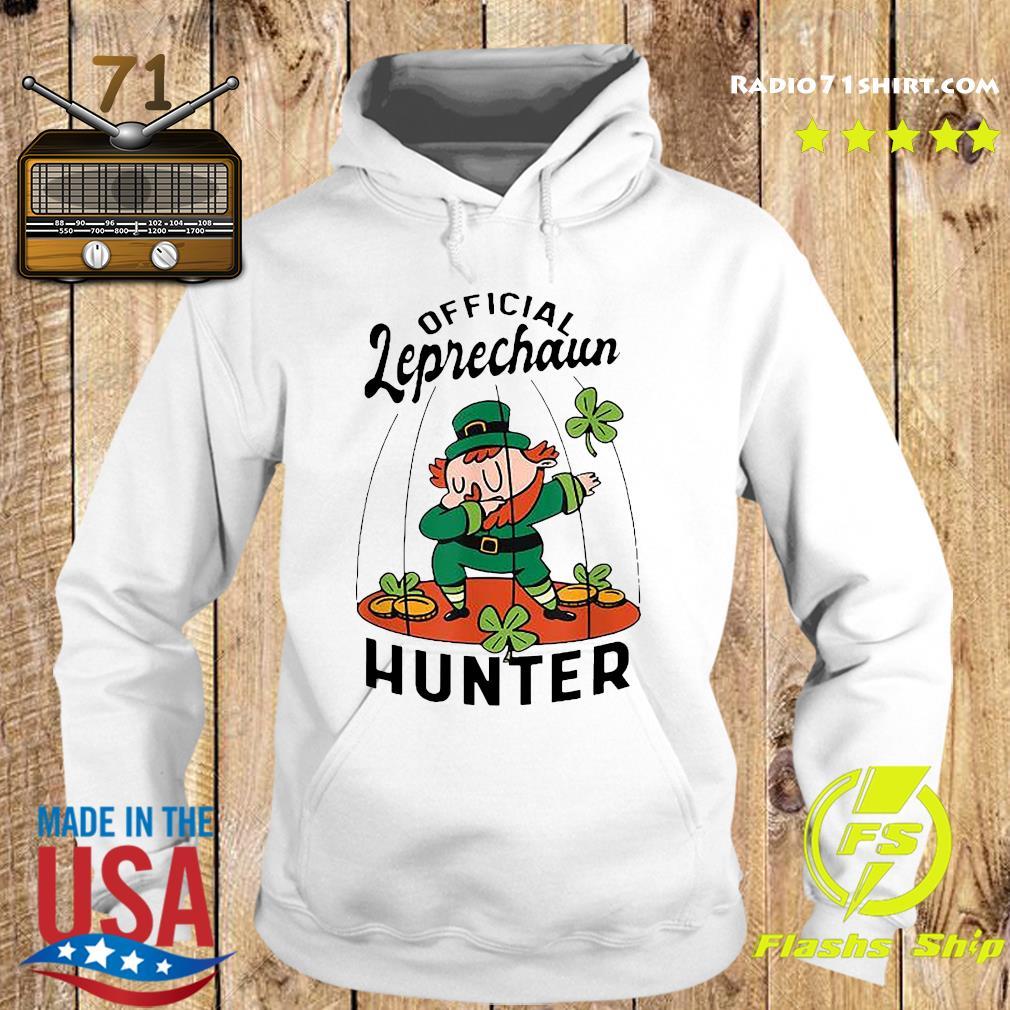 Official Leprechaun Hunter St. Patrick's Day 2021 Shirt Hoodie