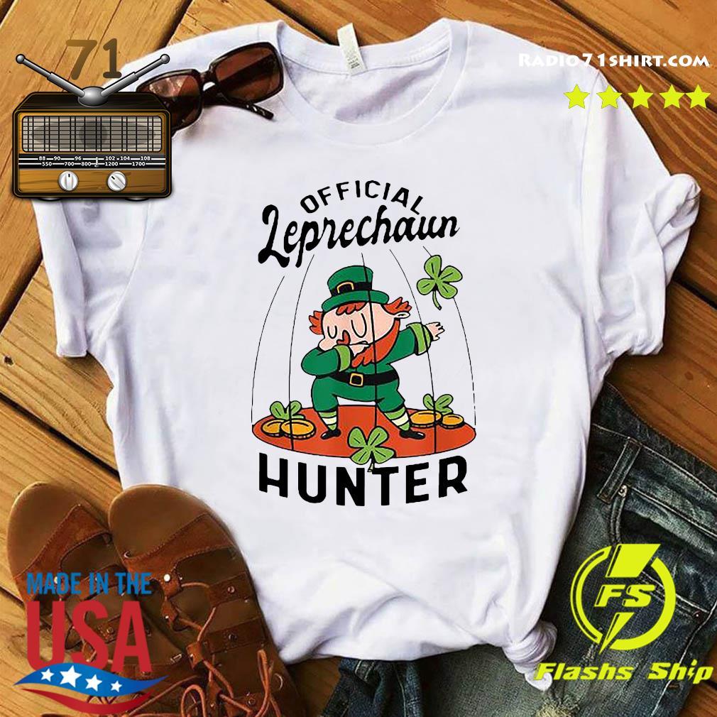 Official Leprechaun Hunter St. Patrick's Day 2021 Shirt