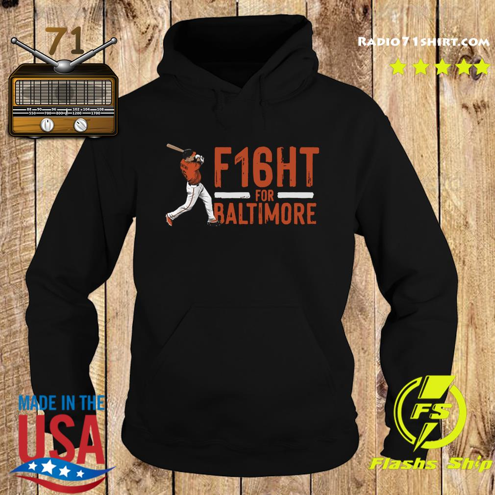 Official Trey Mancini F16ht For Baltimore Shirt Hoodie