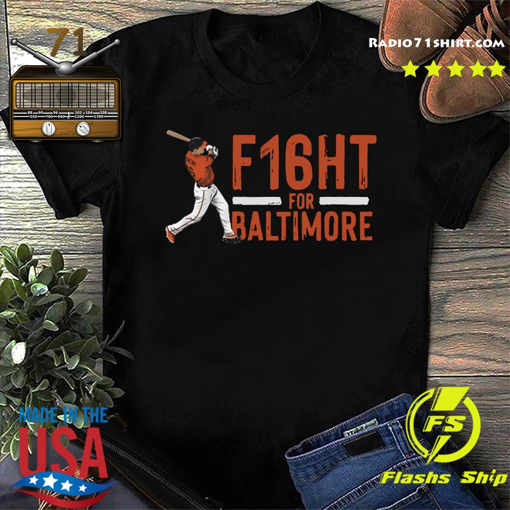 Official Trey Mancini F16ht For Baltimore Shirt