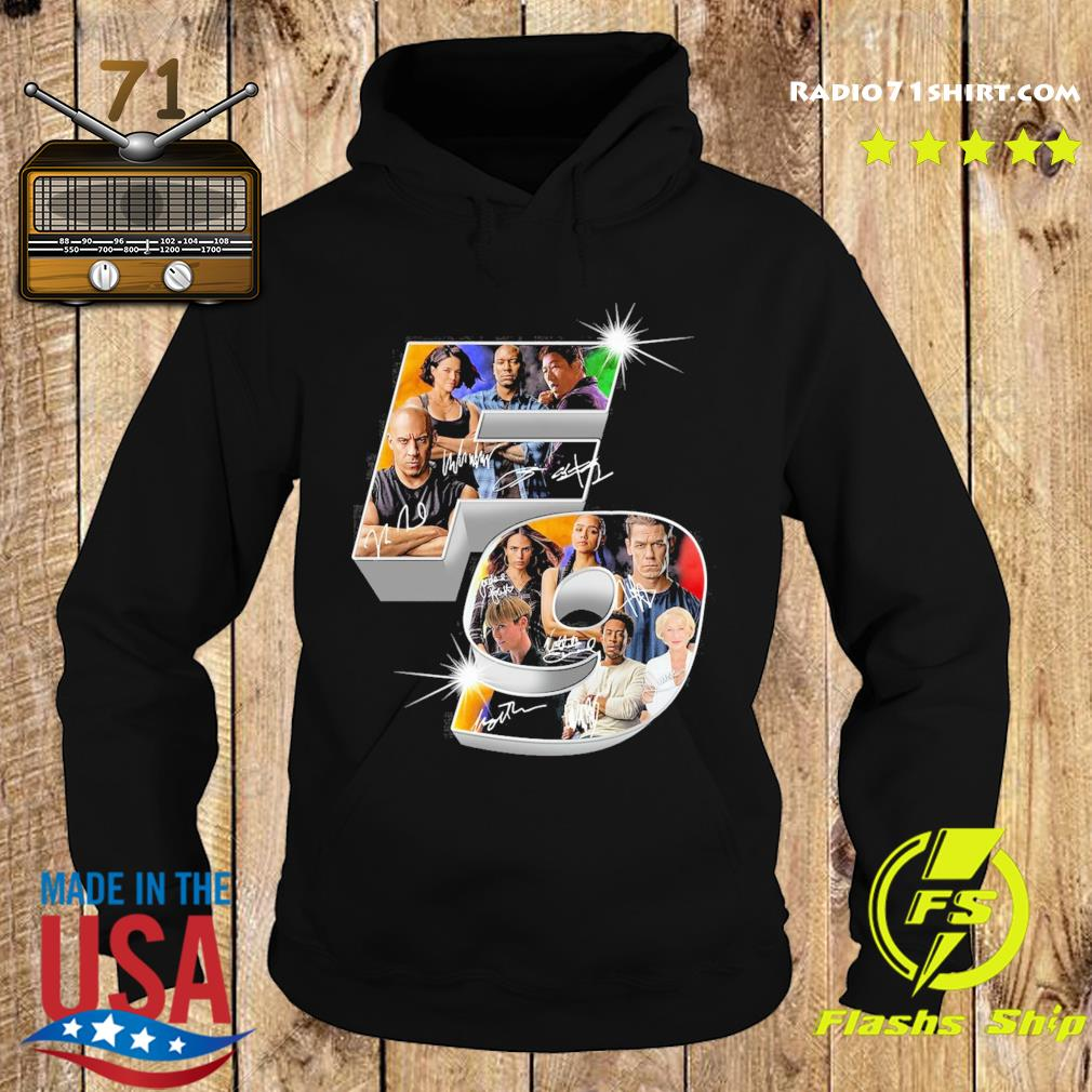 The Fast And Furious F9 Signatures Shirt Hoodie