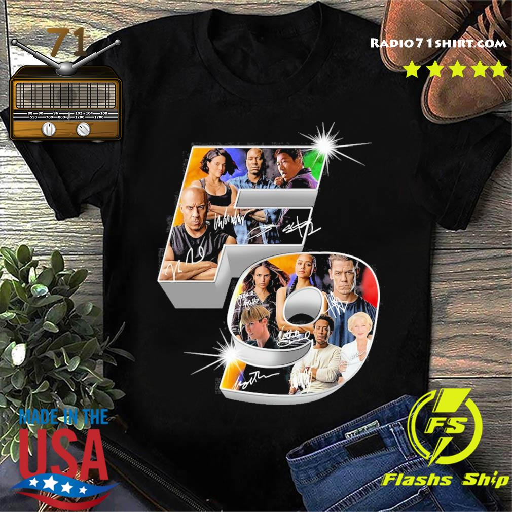The Fast And Furious F9 Signatures Shirt