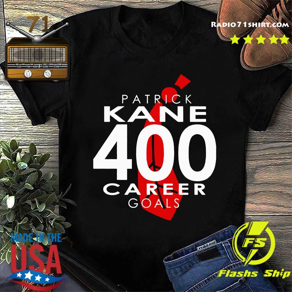 The Patrick Kane 400 Career Goals Shirt