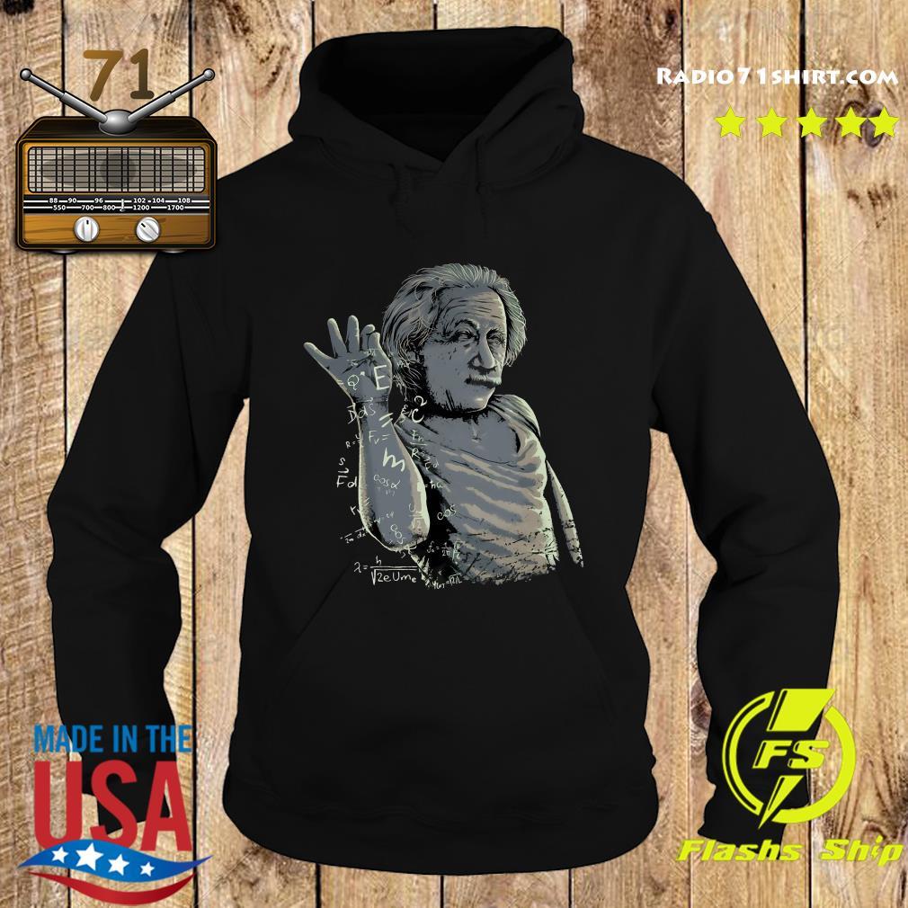 Albert Einstein Salt Bae Shirt Hoodie