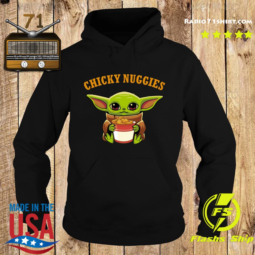 Baby Yoda chicky nuggies s Hoodie
