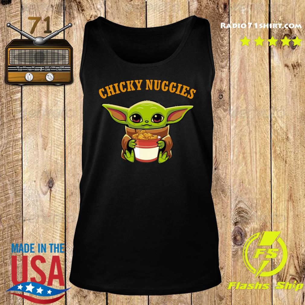Baby Yoda chicky nuggies s Tank top