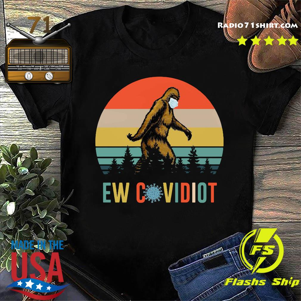 Bigfoot New Covid Iot vintage shirt