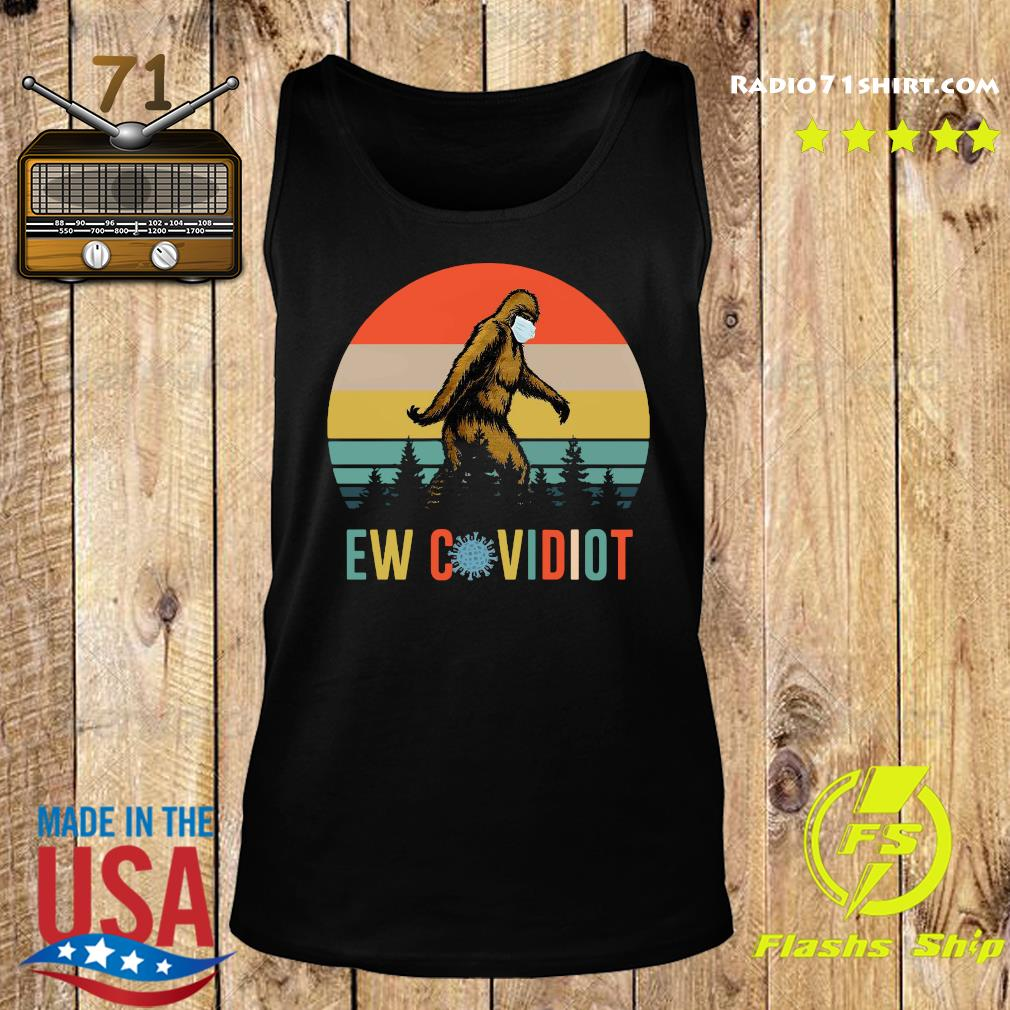 Bigfoot New Covid Iot vintage s Tank top