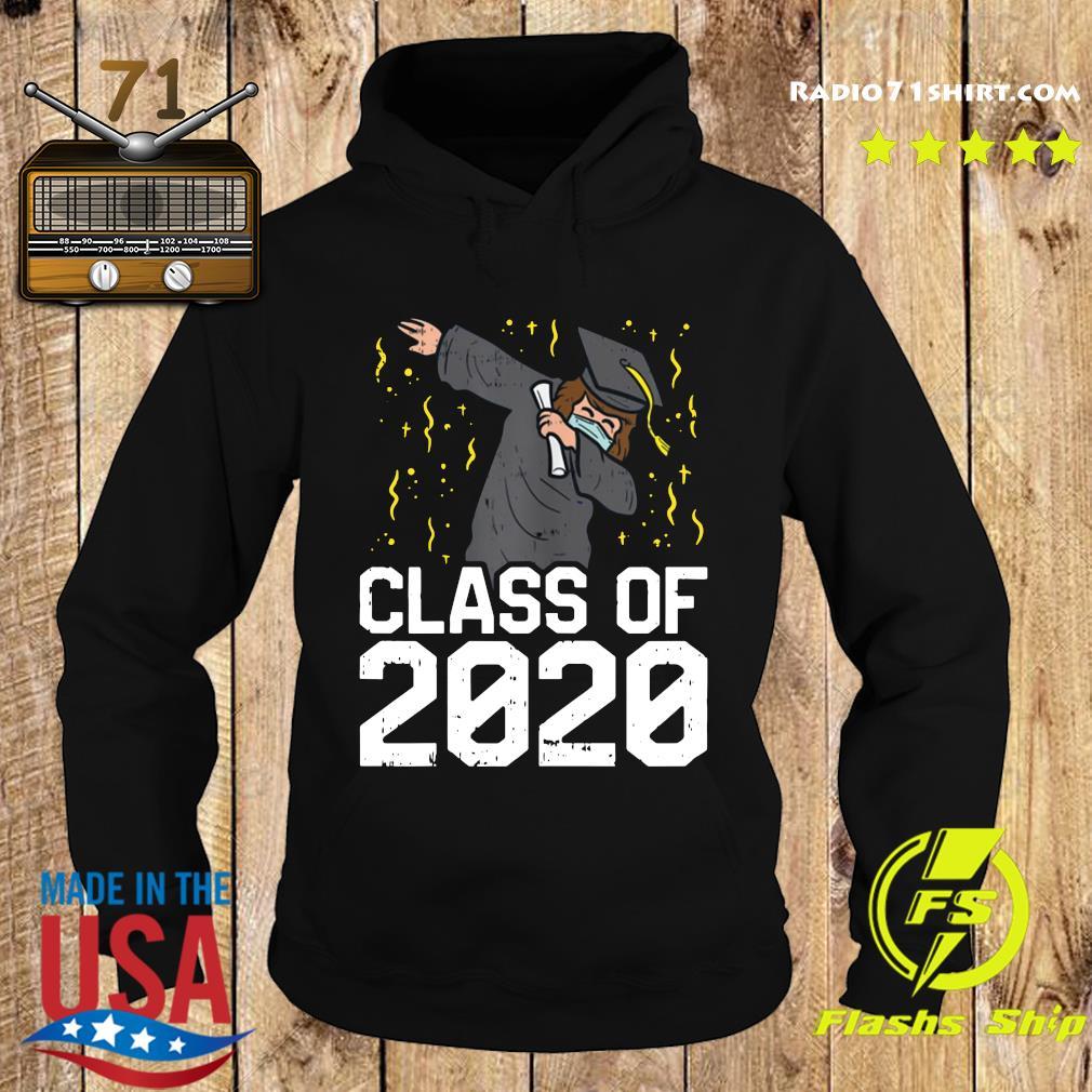 Dabbing Graduate Class Of 2020 Funny Social Distancing Shirt Hoodie