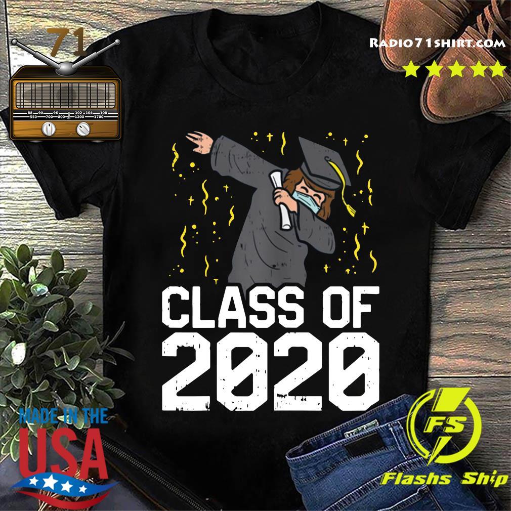 Dabbing Graduate Class Of 2020 Funny Social Distancing Shirt